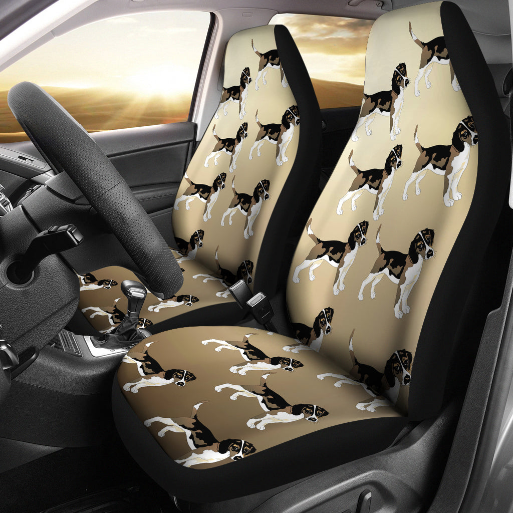 Beagle Car Seat Cover (Set of 2)