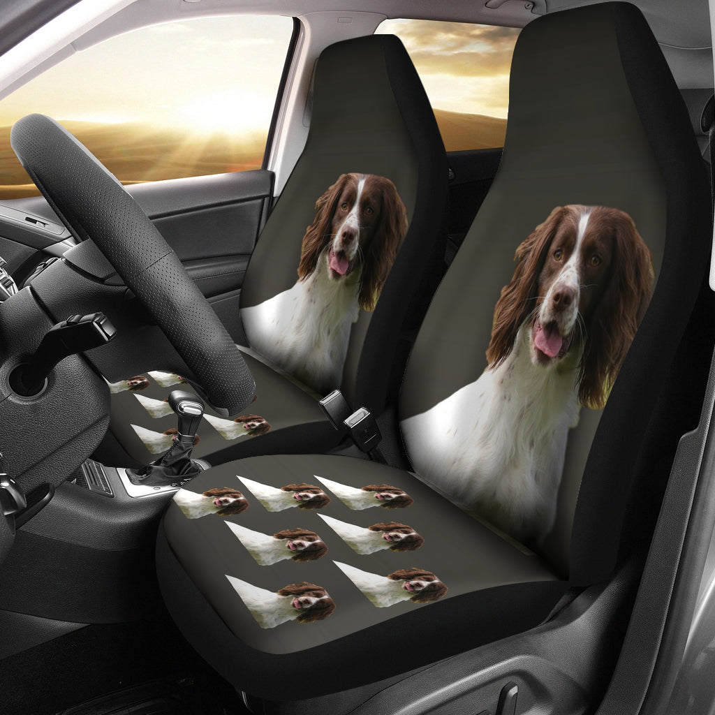 English Springer Spaniel Car Seat Covers (Set of 2)