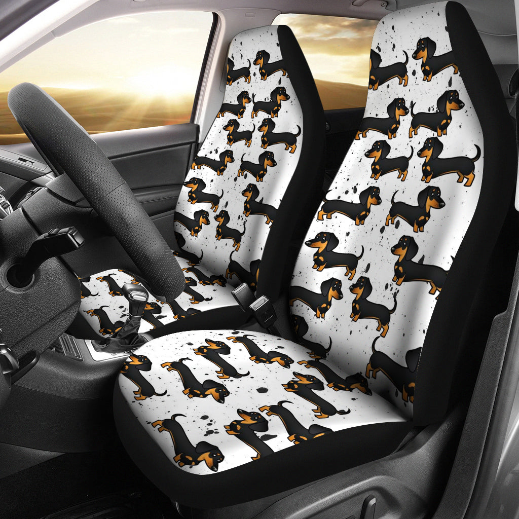 Dachshund Car Seat Cover (Set of 2)