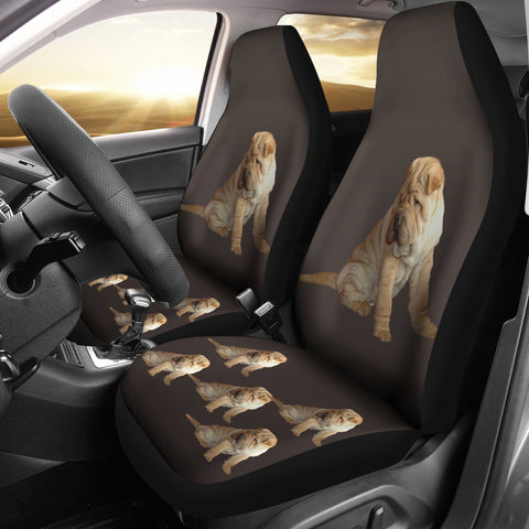 Shar Pei Car Seat Covers