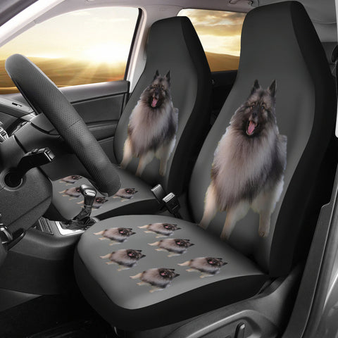 Keeshond Car Seat Covers (Set of 2)