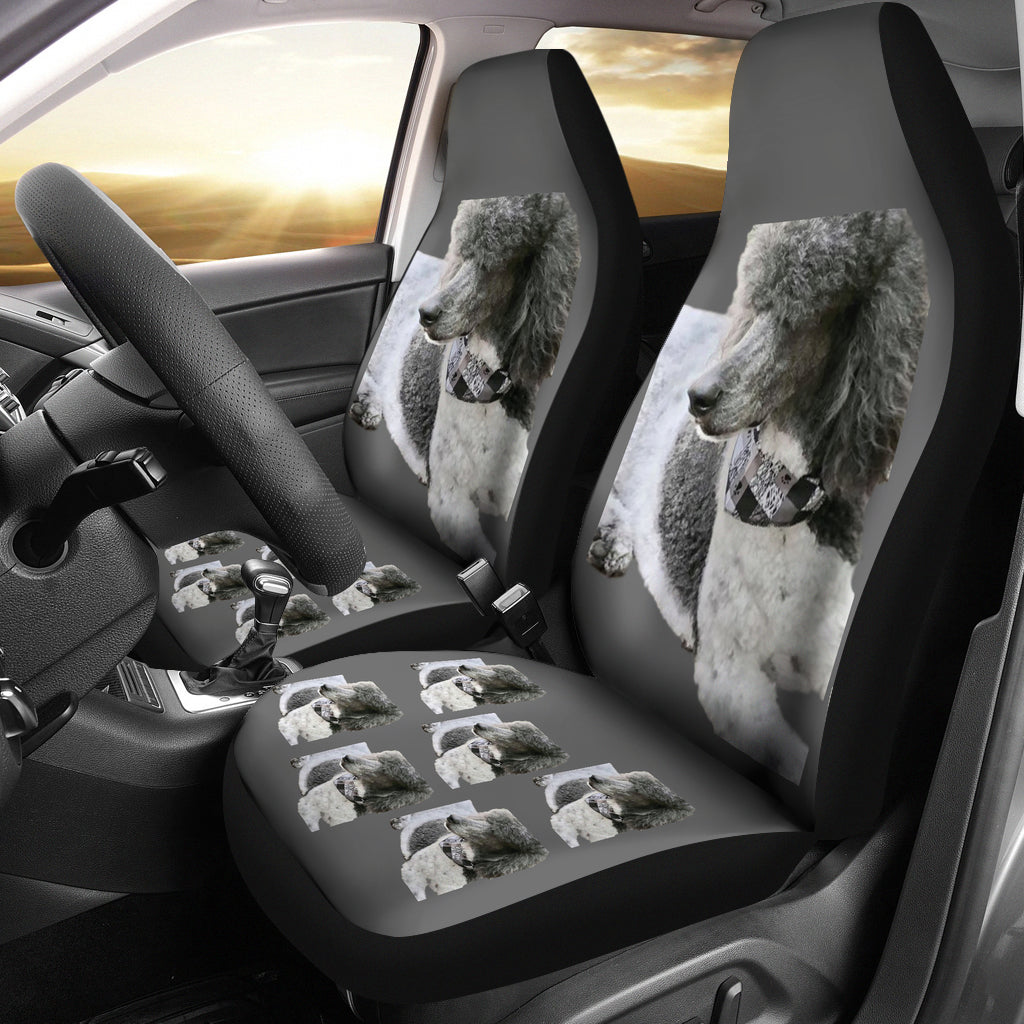 Standard Poodle Car Seat Cover - (Set of 2)