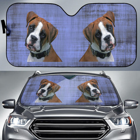 Boxer Car Sun Shade