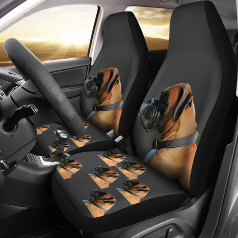 Boxer Car Seat Cover (Set of 2)