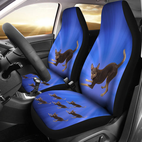 Australian Kelpie Car Seat Covers (Set of 2)