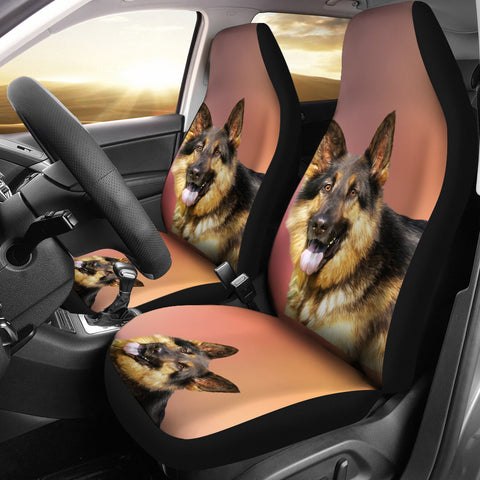 German Shepherd Car Seat Cover (Set of 2)
