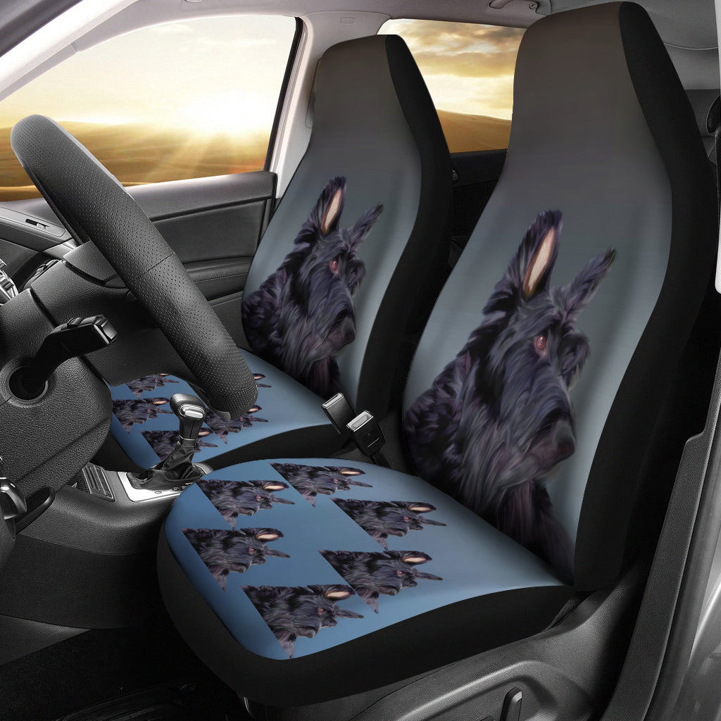 Scottish Terrier Car Seat Cover (Set of 2)