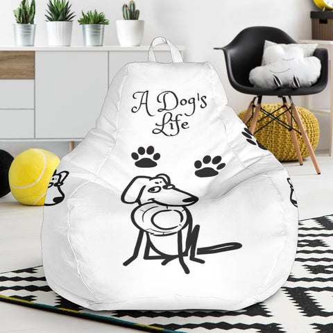 A Dog's Life Bean Bag Chair
