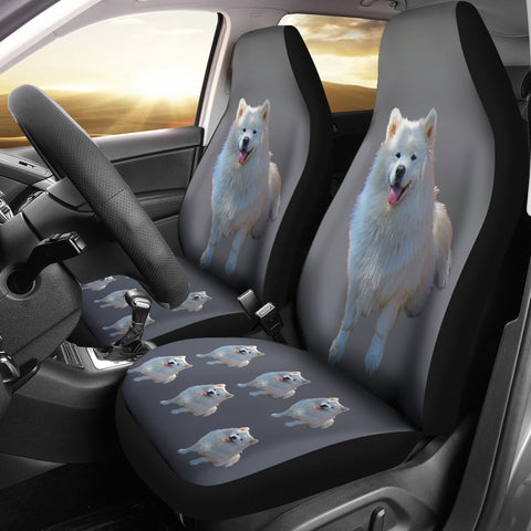 Samoyed Car Seat Cover (Set of 2)