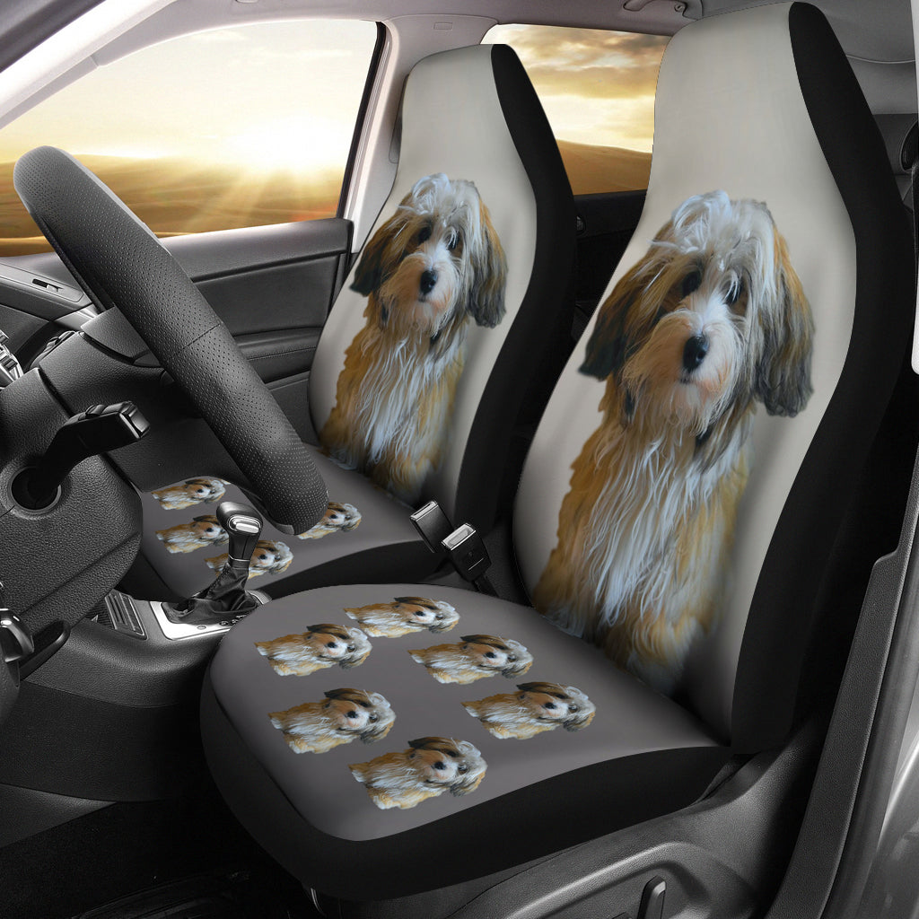Havanese Car Set Covers