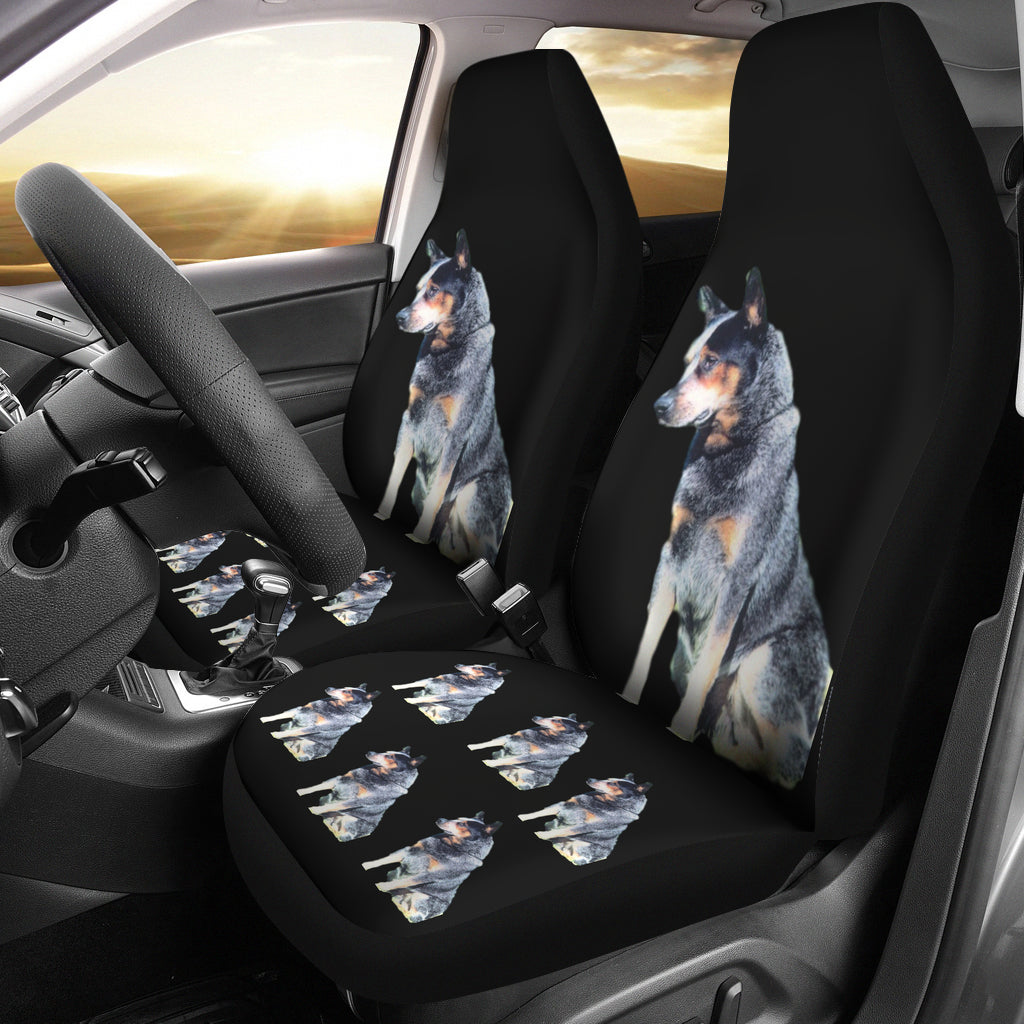 Australian Cattle Dog Car Seat Covers (Set of2)