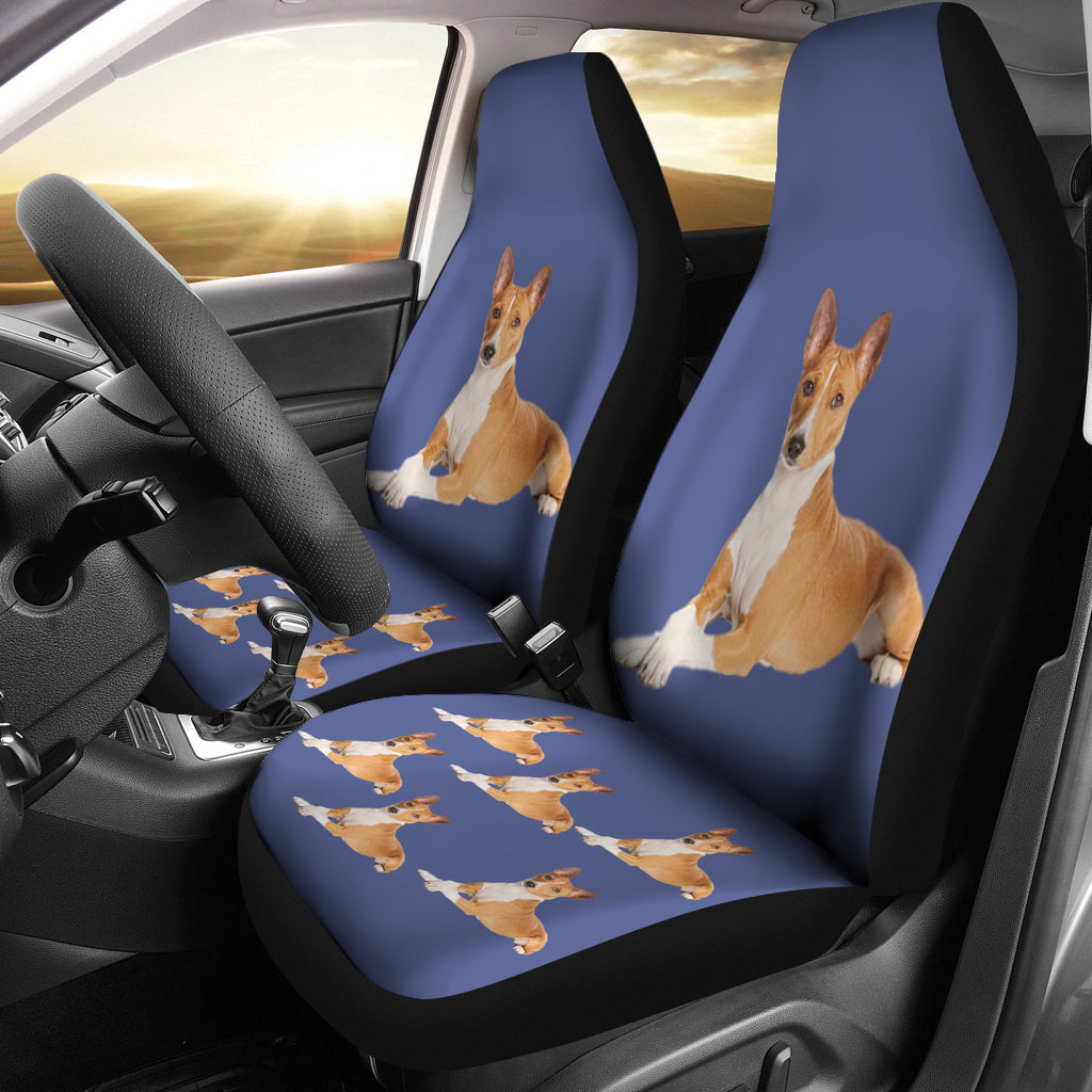 Basenji Car Seat Covers - Set of 2