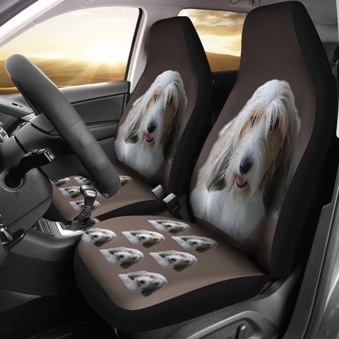Petit Basset Griffon Vendeen Car Seat Cover (Set of 2)