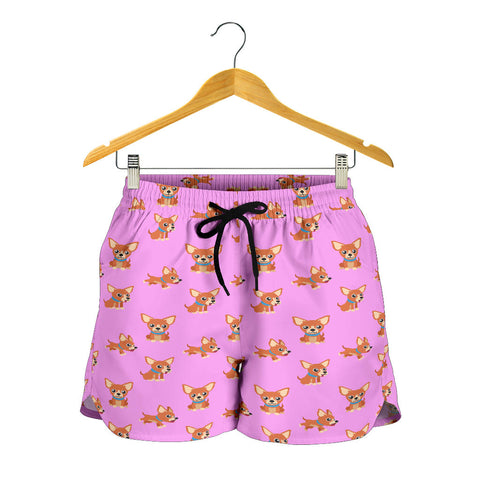 Chihuahua Cartoon Shorts
