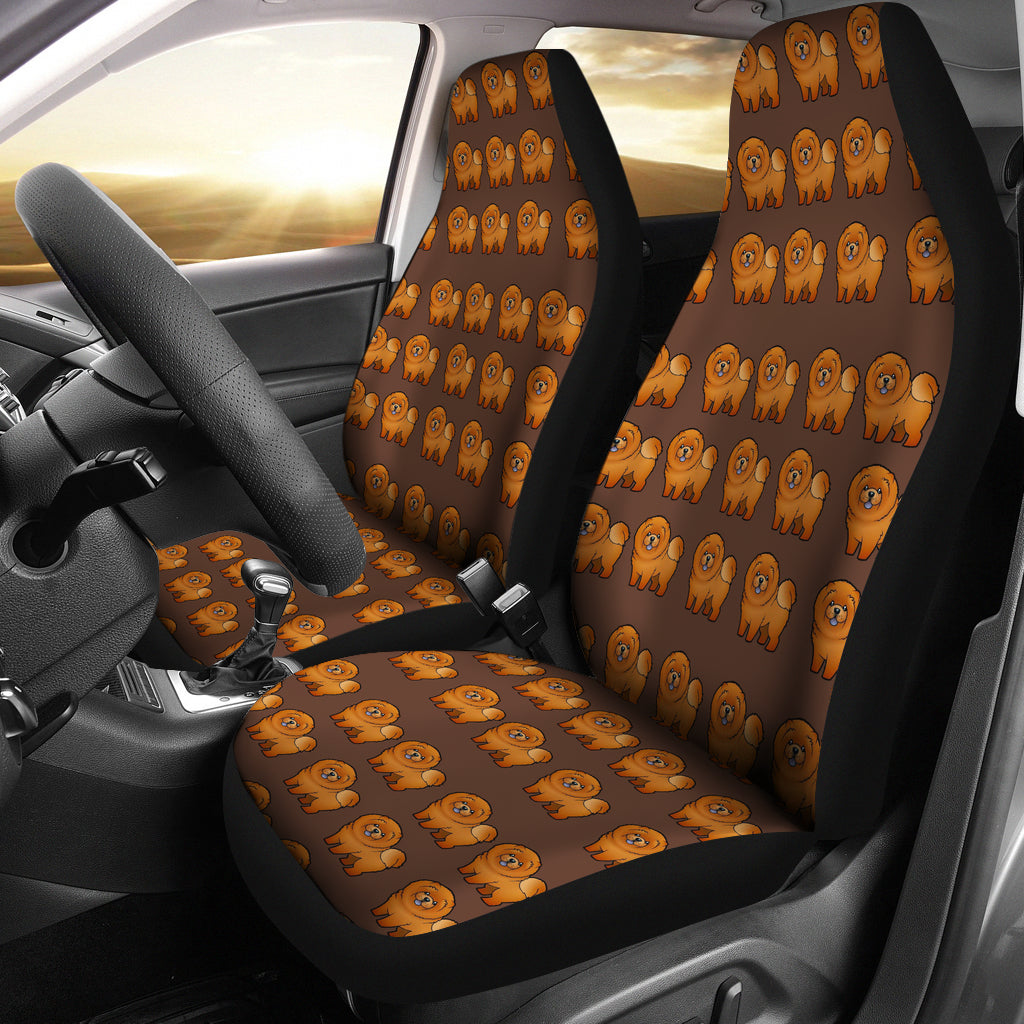 Chow Chow Car Seat Cover (Set of 2)