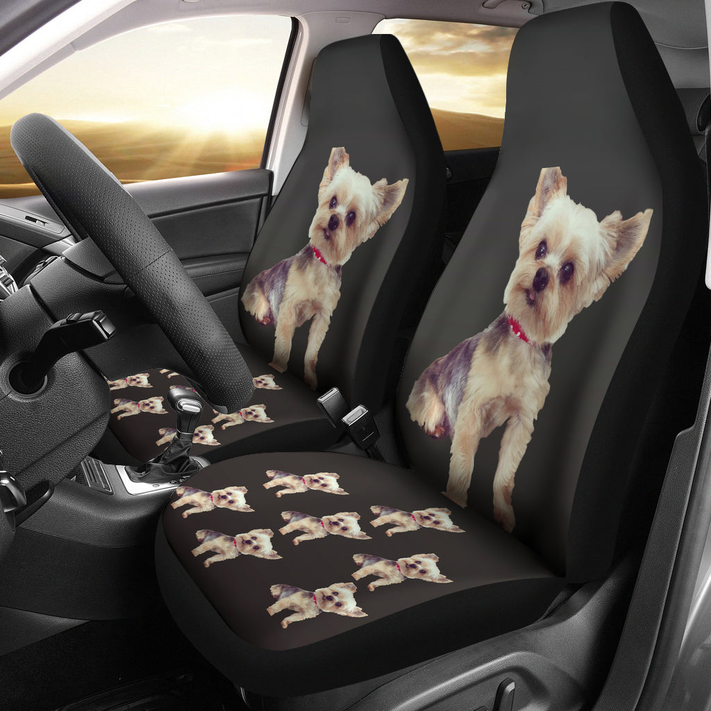Yorkie Car Seat Cover (Set of 2)