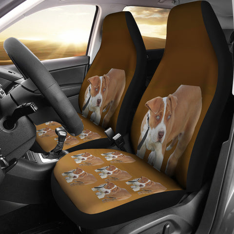 Pit Bull Car Seat Covers (Set of 2)