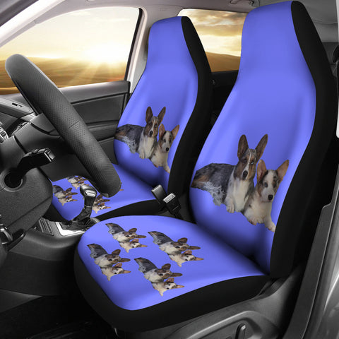 Corgi Car Seat Covers- Cardigan 2 (Set of 2)