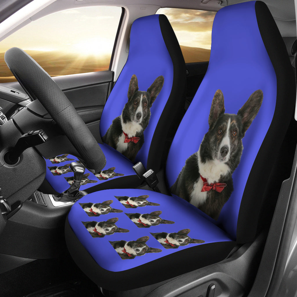 Corgi Car Seat Covers - Cardigan (Set of 2)