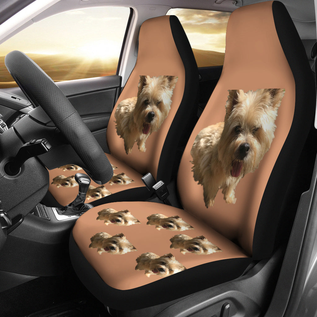 Norwich Terrier Car Seat Covers - Set of 2