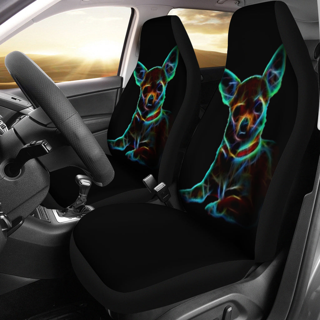Chihuahua Lover Car Seat Cover (Set of 2)