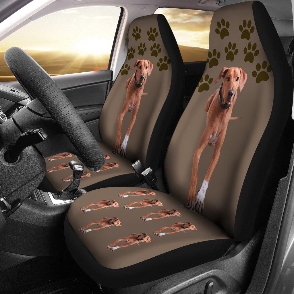 Rhodesian Ridgeback Car Seat Covers (Set of 2)