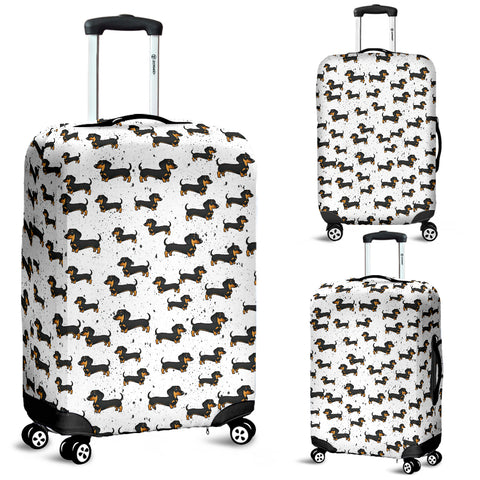 Dachshund Luggage Cover