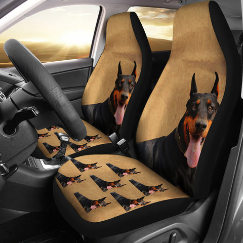 Doberman Car Seat Cover (Set of 2)
