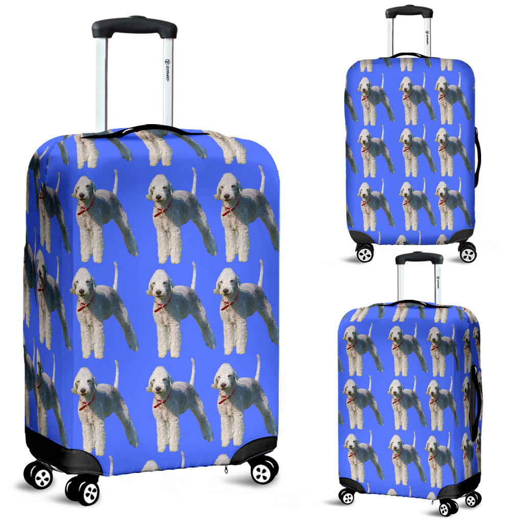 Bedlington Terrier Luggage Cover