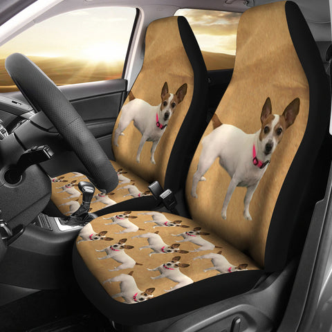 Jack Russell Terrier Car Seat Cover (Set of 2)