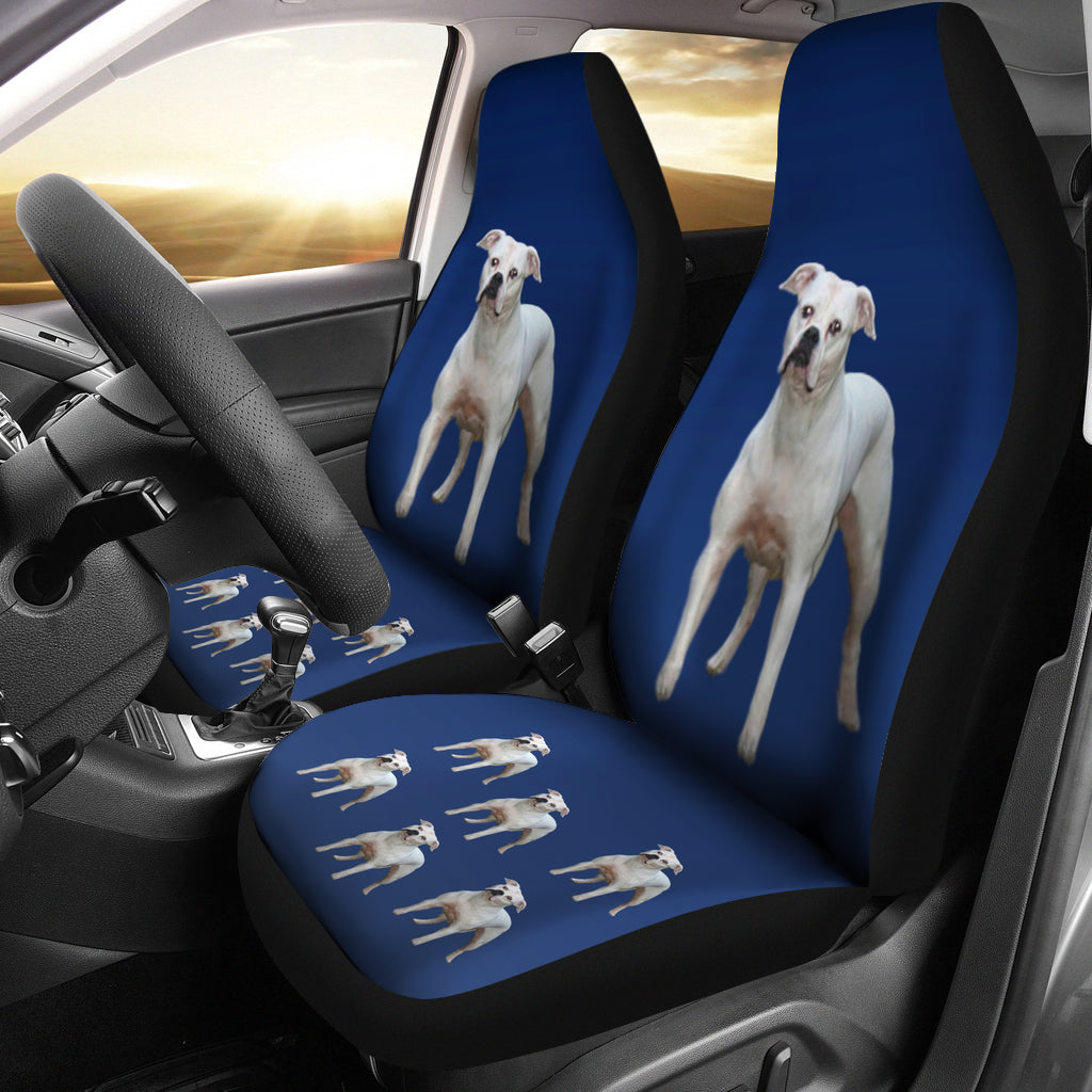 American Bulldog Car Seat Covers (Set of2)