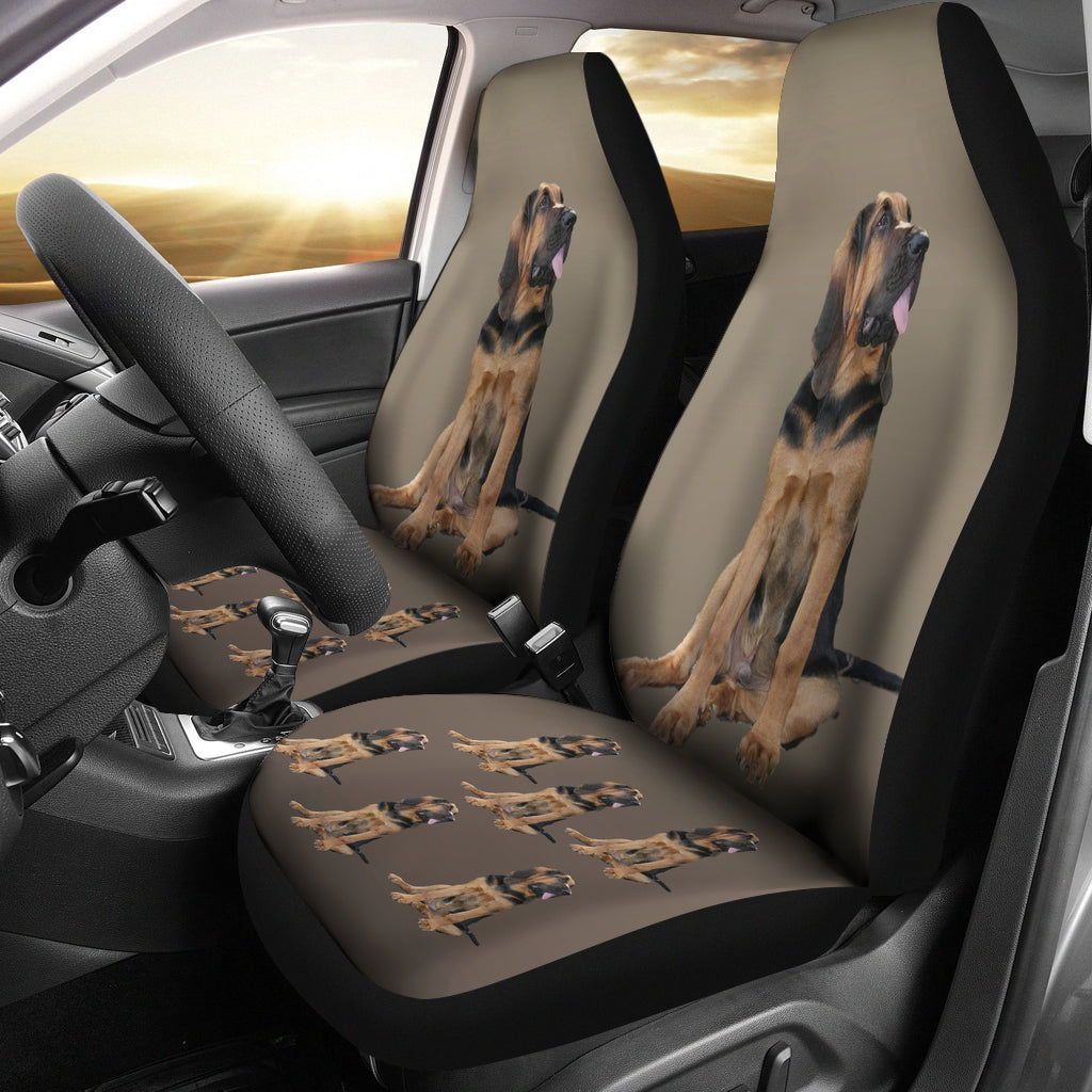 Bloodhound Car Seat Covers (Set of 2)