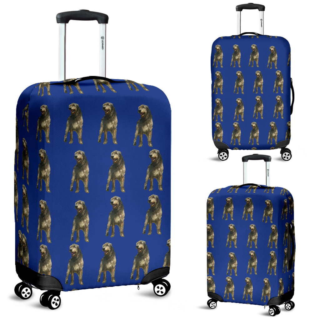 Irish Wolfhound Luggage Cover