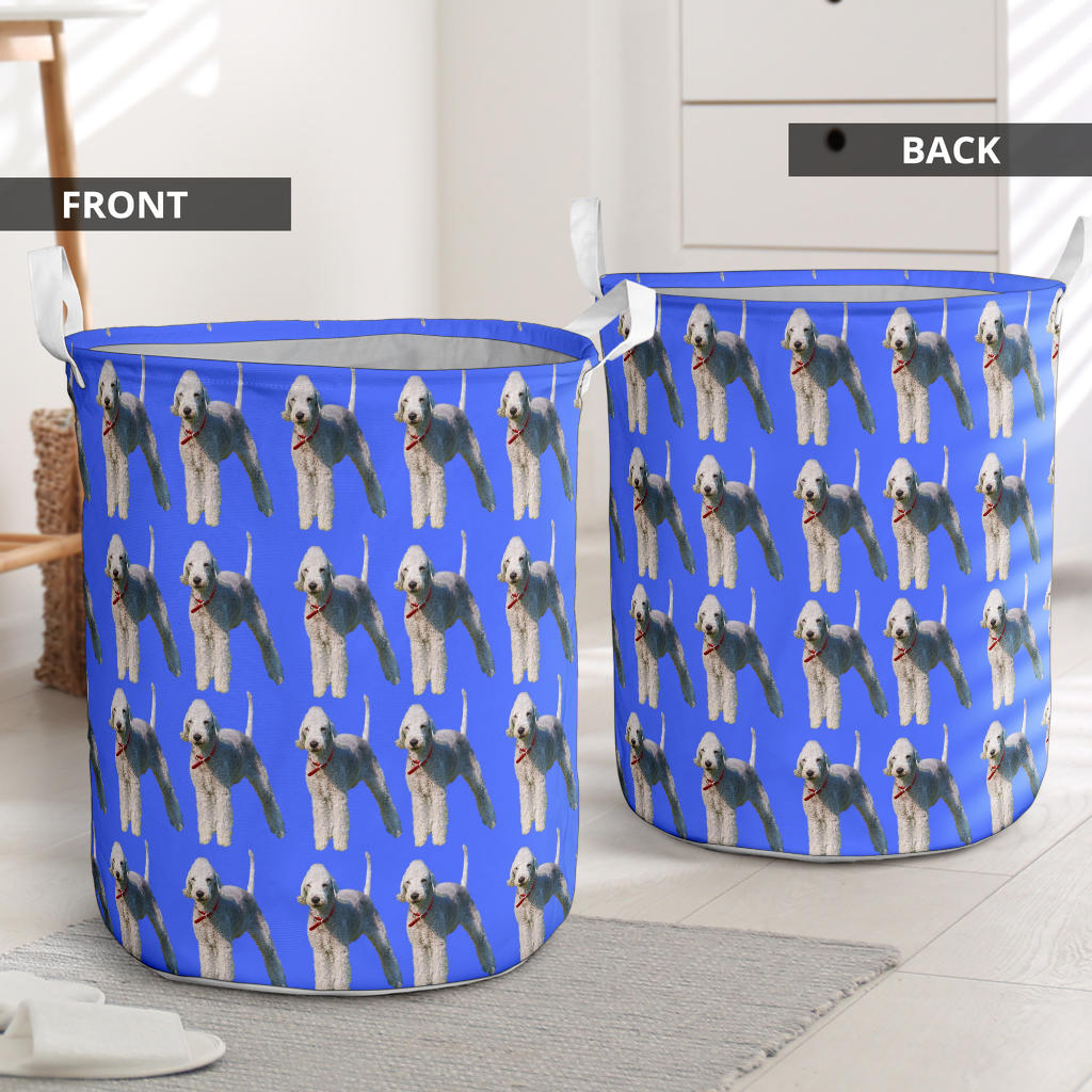 Bedlington Terrier Laundry Basket