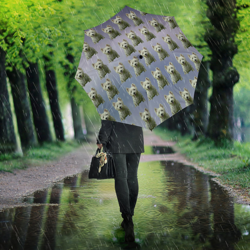 Westie Umbrella - Semi automatic PP