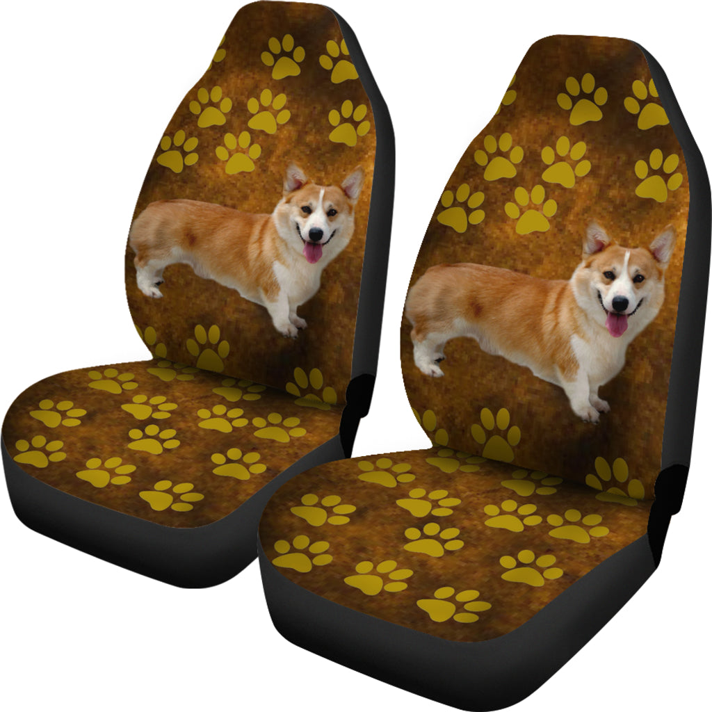 Brown Corgi Car Seat Covers Set Of2 Cathy Ann S Deals