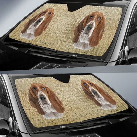 Beagle Car Sun Shade