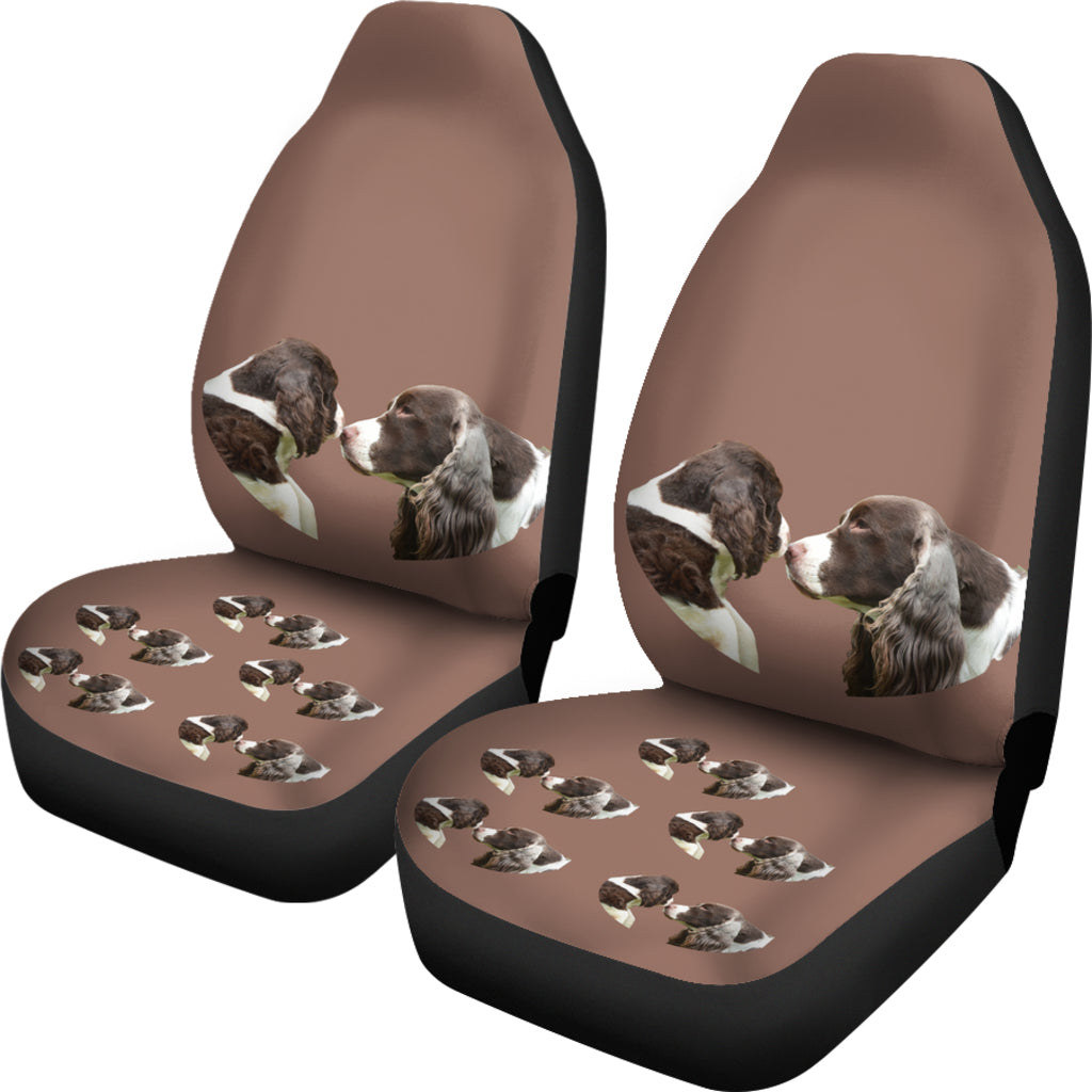 Cocker Spaniels Car Seat Cover - (Set of 2)