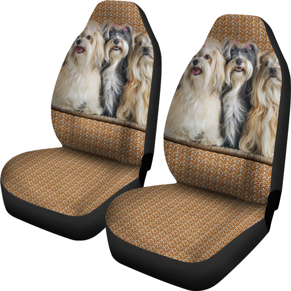 Havanese Car Seat Covers - Set of 2