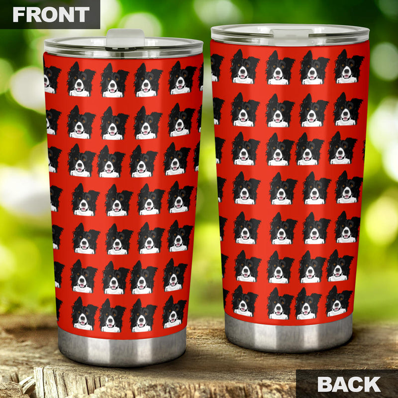 Border Collie Tumbler