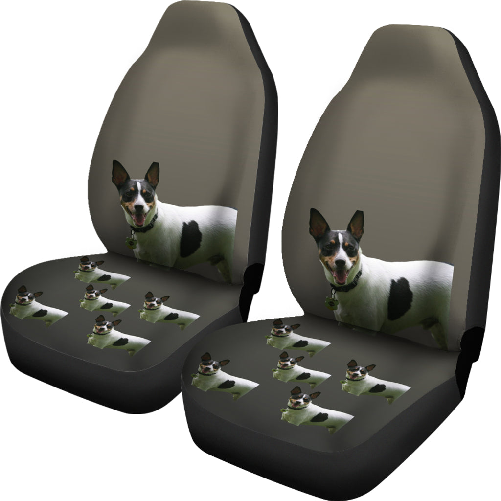 Rat Terrier Car Seat Covers - Set of 2