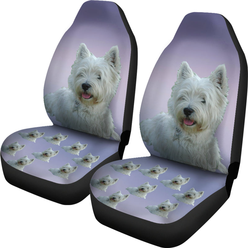 Westie Car Seat Cover (Set of 2)