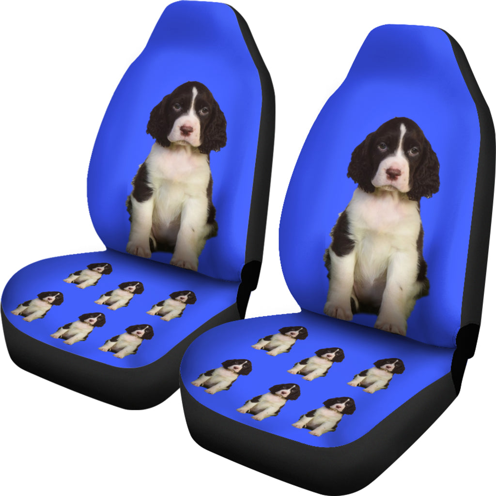 Puppy Car Seat Covers (Set of 2) - Cocker Spaniel