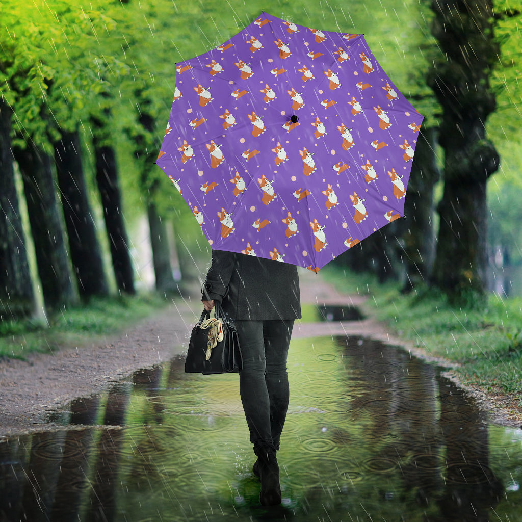 Corgi Umbrella - Semi Automatic