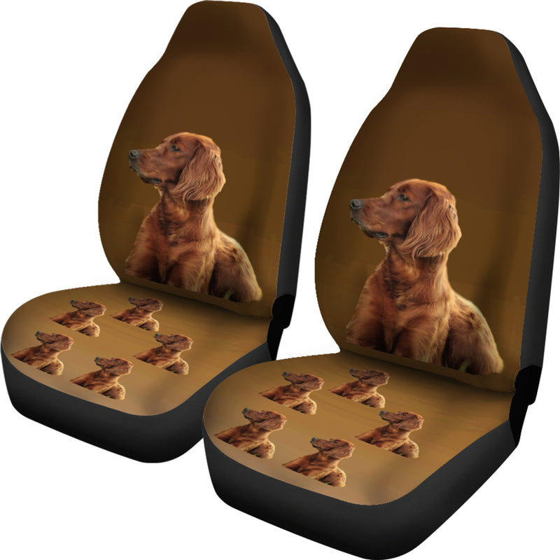 Irish Setter Car Seat Cover (Set of 2)