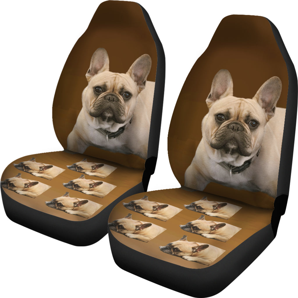 French Bulldog Car Seat Cover ( Set of 2)