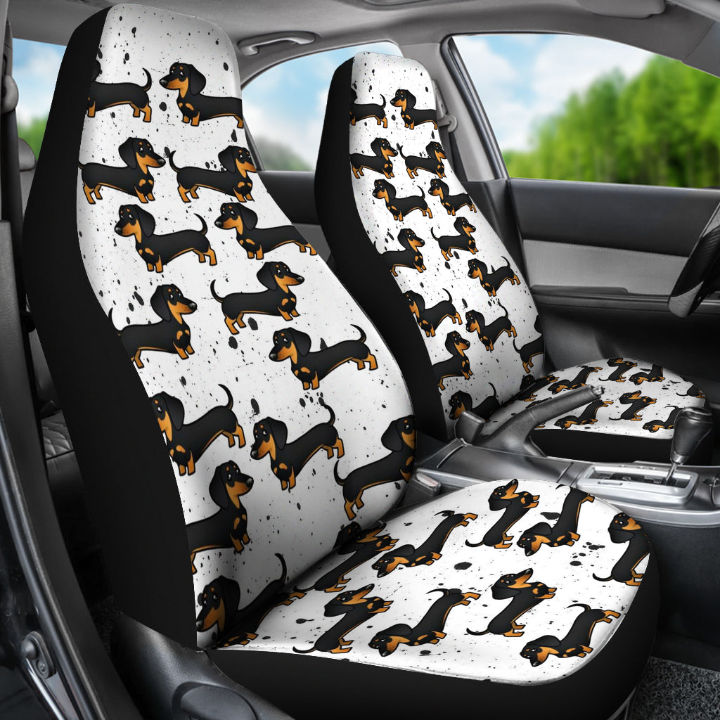 Dachshund Car Seat Cover Set Of 2 Cathy Ann S Deals