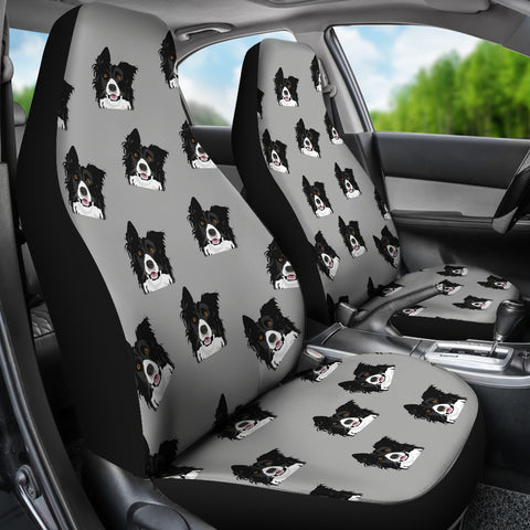 Border Collie Car Seat Cover Set Of 2 Cathy Ann S Deals