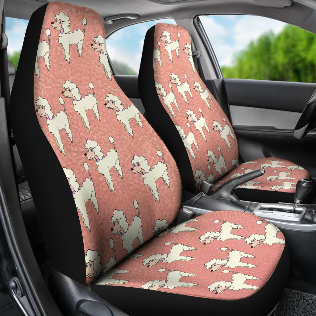 poodle car seat cover set of 2 � cathy anns deals