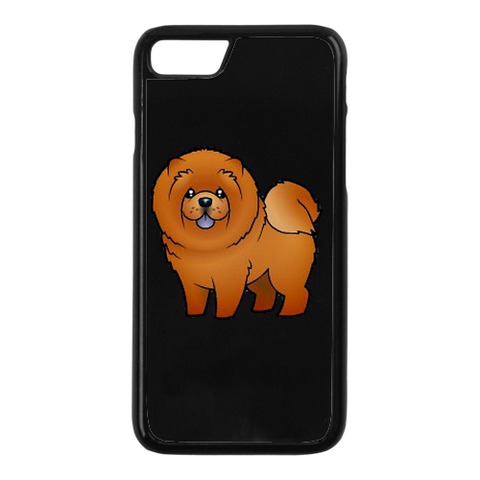 Cartoon Chow iPhone Case
